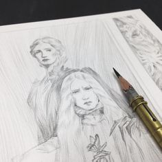 Sometimes you just gotta do something fun to get back into the right mindset. So um. Currently working on some Crimson Peak fanart