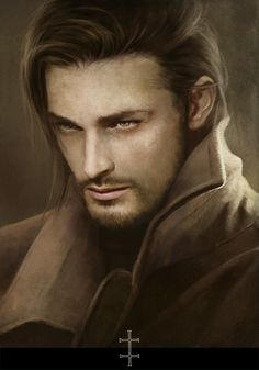 ~ Artworks 2011/2012 - THE ART of Eve Ventrue    definitely see him as a alpha wolf