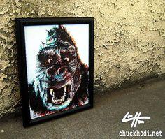 King Kong  Original  Gorilla Classic Giant Adventure by chuckhodi, $90.00