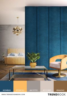 Trend Color Palette | Trend Color Schemes | Design Inspiration | Interiors