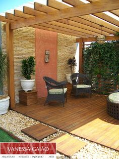Ideas Backyard Design Patio Layout For 2019 Patio Roof, Pergola Patio, Backyard Patio, Backyard Landscaping, Pergola Designs, Patio Design, Garden Design, House Design, Outdoor Rooms