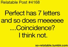 Coincidence? I think not!