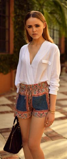 THE PERFECT PRINT SHORTS By Kayture