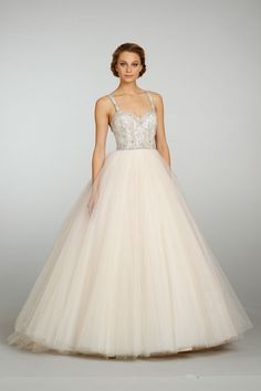 Lazaro Bridal style 3319