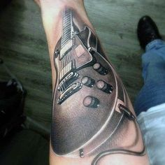 Music Tattoos - Classic Guitar Source by xobrookiesmilez Lyric Tattoos, Arm Tattoos, Tattoo Music, Sleeve Tattoos, Cool Tattoos, Tatoos, Guitar Tattoo Design, Music Tattoo Designs, Tatouage Rock And Roll