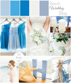 I love all of the beach wedding ideas in this blue and white wedding by Kristen Lynne Photography! See more on the blog! http://www.thebridelink.com/blog/2014/05/02/beach-wedding-in-ocean-isle-north-carolina-by-kristin-lynn-photography/