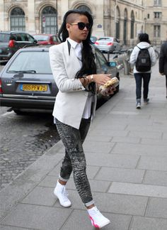 One of the most fashionable chicks in the game. #Dope #Cassie