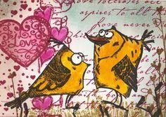 stamping rika: Love ♥
