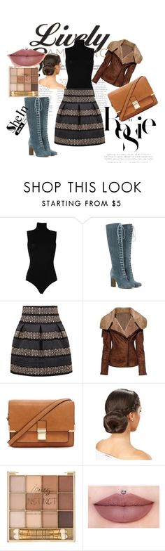 """""""shein"""" by adisa-hadzic4 ❤ liked on Polyvore featuring Whiteley, Dolce&Gabbana, Etro and Forever 21"""