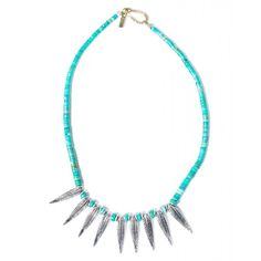 Vanessa Mooney The Prairie Necklace ($155) ❤ liked on Polyvore featuring jewelry, necklaces, beaded jewelry, beading jewelry, vanessa mooney, feather jewelry and feather necklace