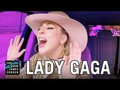 Lady Gaga and James Corden Sing Carpool Karaoke on Their Way to The Late Late Show