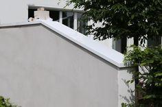 Mauerabdeckung aus lackiertem Aluminium