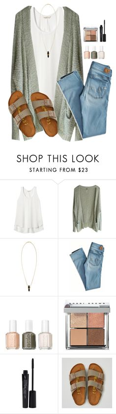 """""""Olive Green"""" by hayleighbrown11 ❤ liked on Polyvore featuring Rebecca Taylor, Free People, Isabel Marant, American Eagle Outfitters, Essie, Bobbi Brown Cosmetics and Smashbox"""