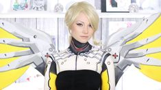 Mercy Overwatch Makeup Tutorial/Cosplay