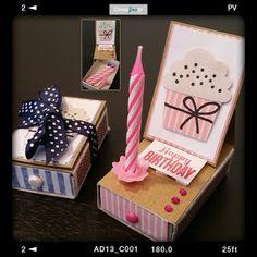 CreatYviety: Micro-Easel-Kartenbox