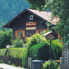 Germany. Bavaria.Oberammergau. Near mountains.
