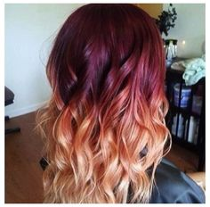 blonde burgundy on Pinterest | Dark Blonde Ombre, Blondes and Burgundy