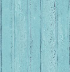 Wood (SD101133) - Brewers Wallpapers - Natural wood paneling in a hand painted effect. Shown here in blue. More colours are available. Please request a sample for true colour match.