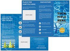 DNA Compound Brochure Templates Brochure Templates Pinterest - Online brochure templates