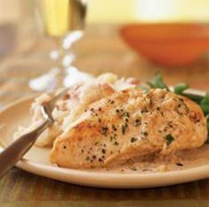 ... chicken with goat cheese sauce more chicken meat recipes chicken