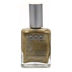 POP Beauty Nail Glam Nail Polish, Golden Metal | $10.00 #Nails #Beauty #Style #Fashion #Holidays Available at Beauty.com
