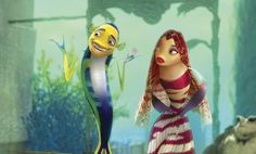 The awful, Oscar-nominated Shark Tale shows how far animation has come / The Dissolve Dreamworks Studios, Dreamworks Movies, Cartoon Movies, Iconic Movies, Iconic Characters, Cartoon Characters, Shark Tale, Aladdin, Bored Panda