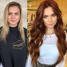 Best Hairstyles Trends To Try In 2020 Ginger Hair Color, Hair Color And Cut, Hair Colors For Blue Eyes, Red Hair Blue Eyes, Hot Hair Colors, Hair Color Auburn, Natural Auburn Hair, Medium Auburn Hair, Brown Auburn Hair