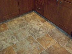 Classic 18x18 Sedona Slate Cedar Glazed Porcelain Floor Tile