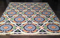 Re-pin our Kaleidoscope rug to vote #stylespotters #hpmkt!
