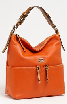 cd0b728e6a3 Dooney   Bourke  Dillen - Medium  Zip Pocket Leather Hobo