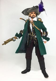 Steampunk Swashbuckler Ken (and Barbie)