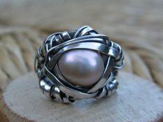 Wire wrapped beauty by GarciaAlfaroArtJewel on Etsy $115.