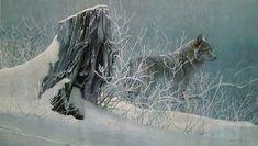 Art Country Canada -ROBERT BATEMAN Winter Tracker Limited Edition Print