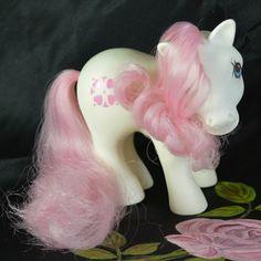 Vintage My Little Pony Italian *Sundance* White Pink G1 1983