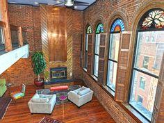 VRBO.com #3496402ha - Downtown Nashville-Printers Alley-Deluxe 2 Bdr Penthouse Loft W/ Views