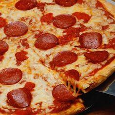 Massa de pizza tradicional