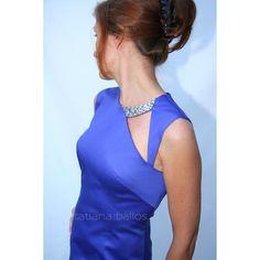 Thea dress in purple Simple Dresses, Casual Dresses, Fashion Dresses, Do It Yourself Fashion, Fashion Details, Fashion Design, Maid Dress, Blouse Dress, New Fashion