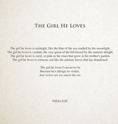 27 Poems By Nikita Gill That Capture The Whirlwind Of Emotions That Love Is - Femalez Sites Poem Quotes, Words Quotes, Wise Words, Sayings, A Poem, Pretty Words, Beautiful Words, Beautiful Poetry, Word Porn