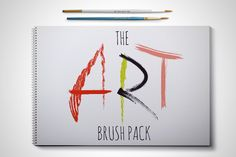 Check out The Art Brush Pack by DrawBabyDraw Designs on Creative Market