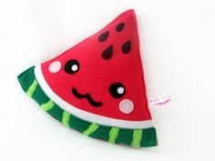 Watermelon kawaii plushie plush toy