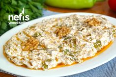Cevizli Biber Yoğurtlaması Tarifi nasıl yapılır? 5.808 kişinin defterindeki bu tarifin detaylı anlatımı ve deneyenlerin fotoğrafları burada. Iftar, Healthy Dinner Recipes, Mashed Potatoes, Macaroni And Cheese, Food And Drink, Low Carb, Menu, Rice, Dishes