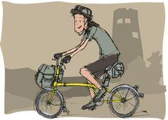 lets tour with a brompton!