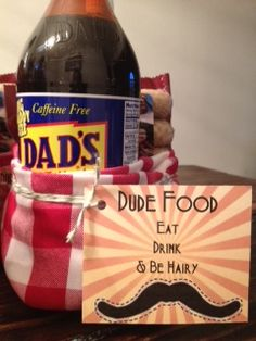 printable soda bottle or can label for fathers day gift ...