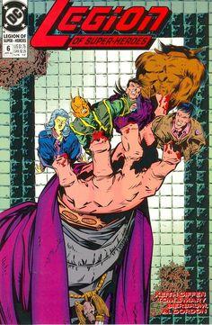 Legion of Super-Heroes (v4) #6 - cover by Keith Giffen & Al Gordon