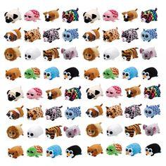 TY Beanie Boo teeny tys Plush - Icy the Seal Ty Beanie Boos Big Eyes Plush Toy Doll Purple Panda Baby Kids Gift Plush Dolls, Doll Toys, Ty Peluche, Panda Bebe, Pocket Dog, Ty Toys, Ty Beanie Boos, Beanie Babies, Rabbit Toys