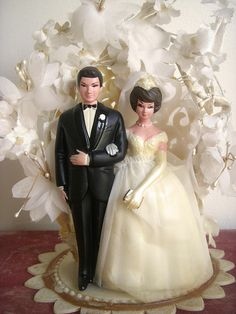 546 best Vintage Wedding Cake Toppers images on Pinterest   Retro     vintage wedding cake topper