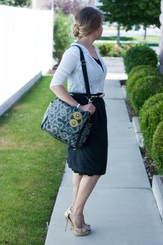 classy mom style with Petunia Picklebottom