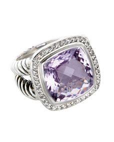 14mm Lavender Amethyst Albion Ring