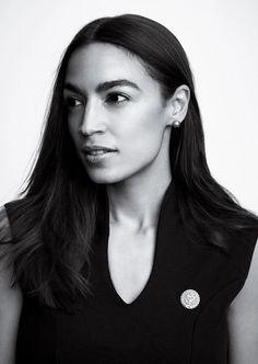 Alexandria Ocasio-Cortez Wants the Country to Think Big Latina, Pretty People, Beautiful People, Badass Women, Iconic Women, Alexandria, Powerful Women, Role Models, Girl Power