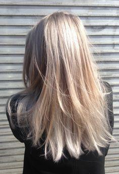 Hair by Loren Miles for Bleach London